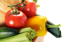 Fresh vegatables close up Royalty Free Stock Images
