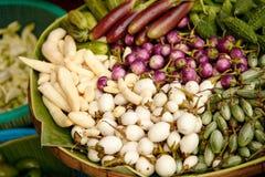 Fresh vegetable. In market Thailand Royalty Free Stock Photos