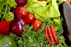 Fresh Vegetable. Fresh healthy bio vegetables for daily vitamins Royalty Free Stock Images