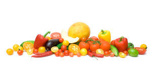 Fresh vegetable abundance Stock Images
