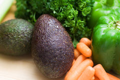 Fresh vegetable background Stock Image
