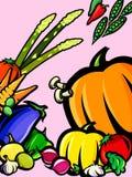 Fresh vegetable background Royalty Free Stock Image