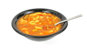 Fresh Vegetable Canned Soup Royalty Free Stock Photography