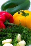 Fresh vegetable food Stock Images