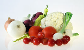 Fresh vegetable fruits Stock Images