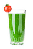Fresh vegetable green smoothie Royalty Free Stock Photography