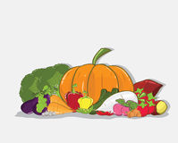 Fresh vegetable  Healthy Eating Royalty Free Stock Photography