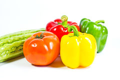 Fresh vegetable isolated Royalty Free Stock Images