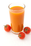 Fresh vegetable juice Stock Photos
