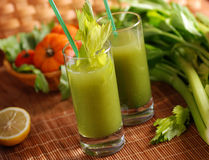 Fresh vegetable juice Royalty Free Stock Photography