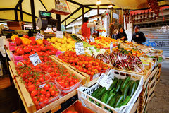 Fresh Vegetable Market Royalty Free Stock Images