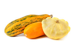 Fresh vegetable marrows Stock Photos