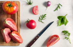 Fresh vegetable pattern Royalty Free Stock Photography