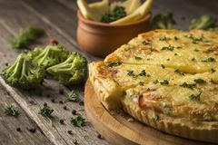 Vegetable pie Royalty Free Stock Images
