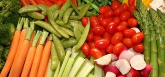 Fresh Vegetable Platter Stock Photography