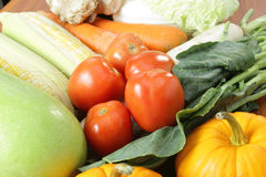Fresh vegetable prepare for do food Stock Images