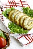 Fresh vegetable roulade Royalty Free Stock Image