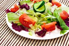 Fresh vegetable salad Royalty Free Stock Photography