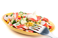 Fresh Vegetable Salad Royalty Free Stock Photos
