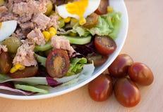 Fresh vegetable salad Stock Photos