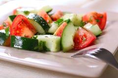 Fresh vegetable salad Royalty Free Stock Photography