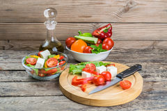 Fresh Vegetable Salad in Bowl Royalty Free Stock Photo