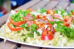 Fresh vegetable salad Royalty Free Stock Photo