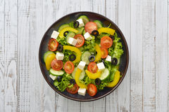 Fresh vegetable salad Royalty Free Stock Photo