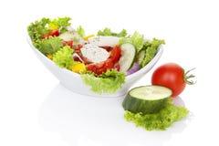 Fresh vegetable salad. stock image