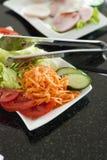 Fresh vegetable salad Stock Photo
