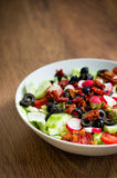 Fresh vegetable salad on a plate Stock Photo
