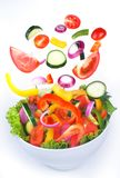 Fresh Vegetable salad with vitamins. Stock Photos