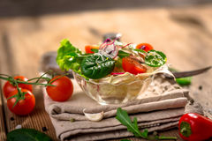 Fresh vegetable salad Royalty Free Stock Images