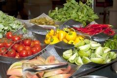 Fresh vegetable selection Stock Photography