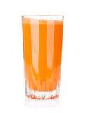 Fresh vegetable smoothie. Carrot juice Royalty Free Stock Photos