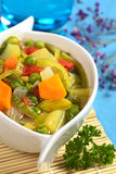 Fresh Vegetable Soup Stock Photos