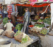 Fresh vegetable stall Jammu Kashmir Royalty Free Stock Photo