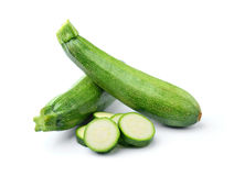 Fresh vegetable zucchini Royalty Free Stock Images