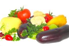 Fresh Vegetables. White background. Gourmet Royalty Free Stock Image