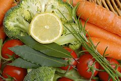 Fresh vegetables. Group of different vegetables background stock photos