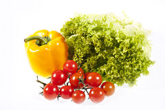 Fresh vegetables. Isolated on white Stock Photo