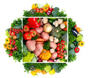 Fresh vegetables. stock image