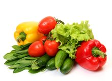 Free Fresh Vegetables Royalty Free Stock Photo - 13101545