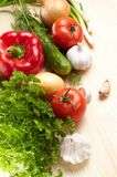 Fresh vegetables Royalty Free Stock Photos