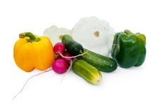 The fresh vegetables royalty free stock photography