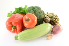 Free Fresh Vegetables Royalty Free Stock Images - 18283329