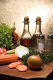 Fresh vegetables. Close-up of fresh vegetables royalty free stock image