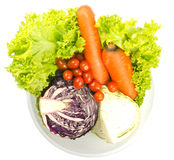 Fresh vegetables. Image fresh vegetables in bowl Stock Photography