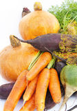 Fresh vegetables. On a white background Royalty Free Stock Photos