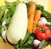 Fresh vegetables. It is a mix of fresh vegetables Stock Image
